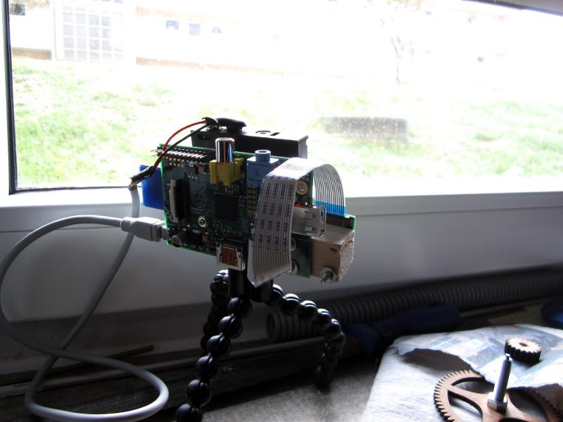 Raspeberry Pi Time lapse