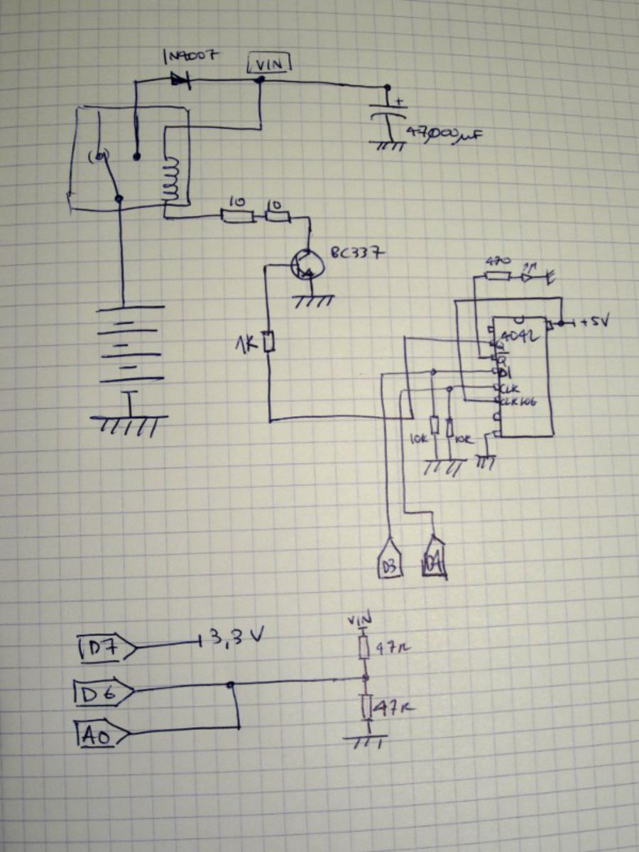UPS electrical diagram