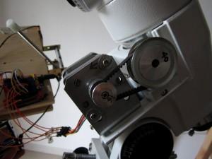 Motorizing a EQ5 mount
