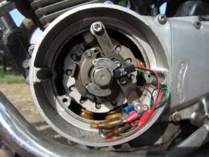 Electronical ignition retrofit