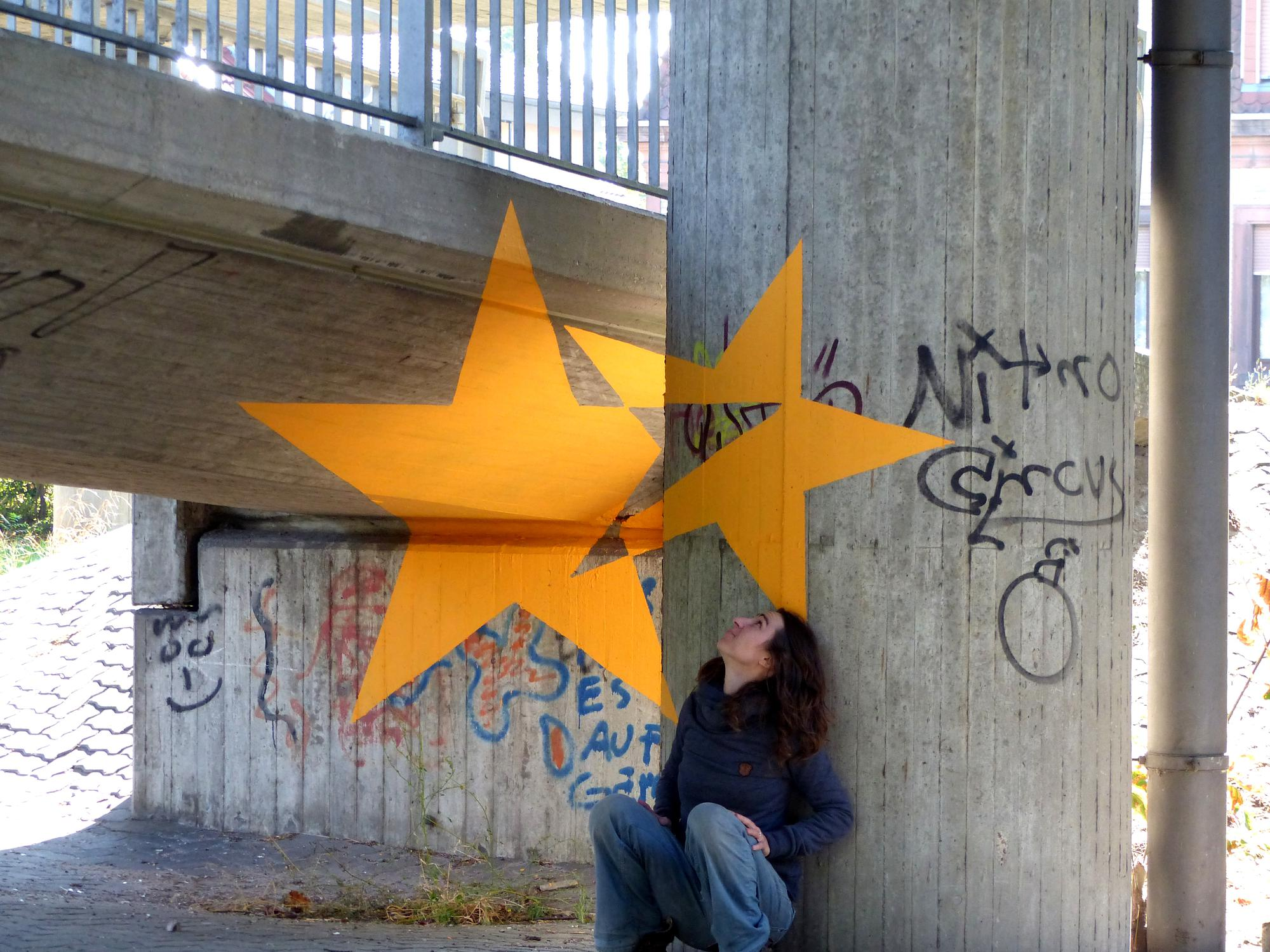 anamorphose étoiles